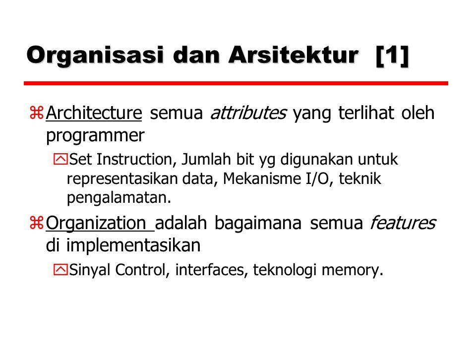 Organisasi dan Arsitektur [1]